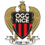 OGC Nice Côte d'Azur badge